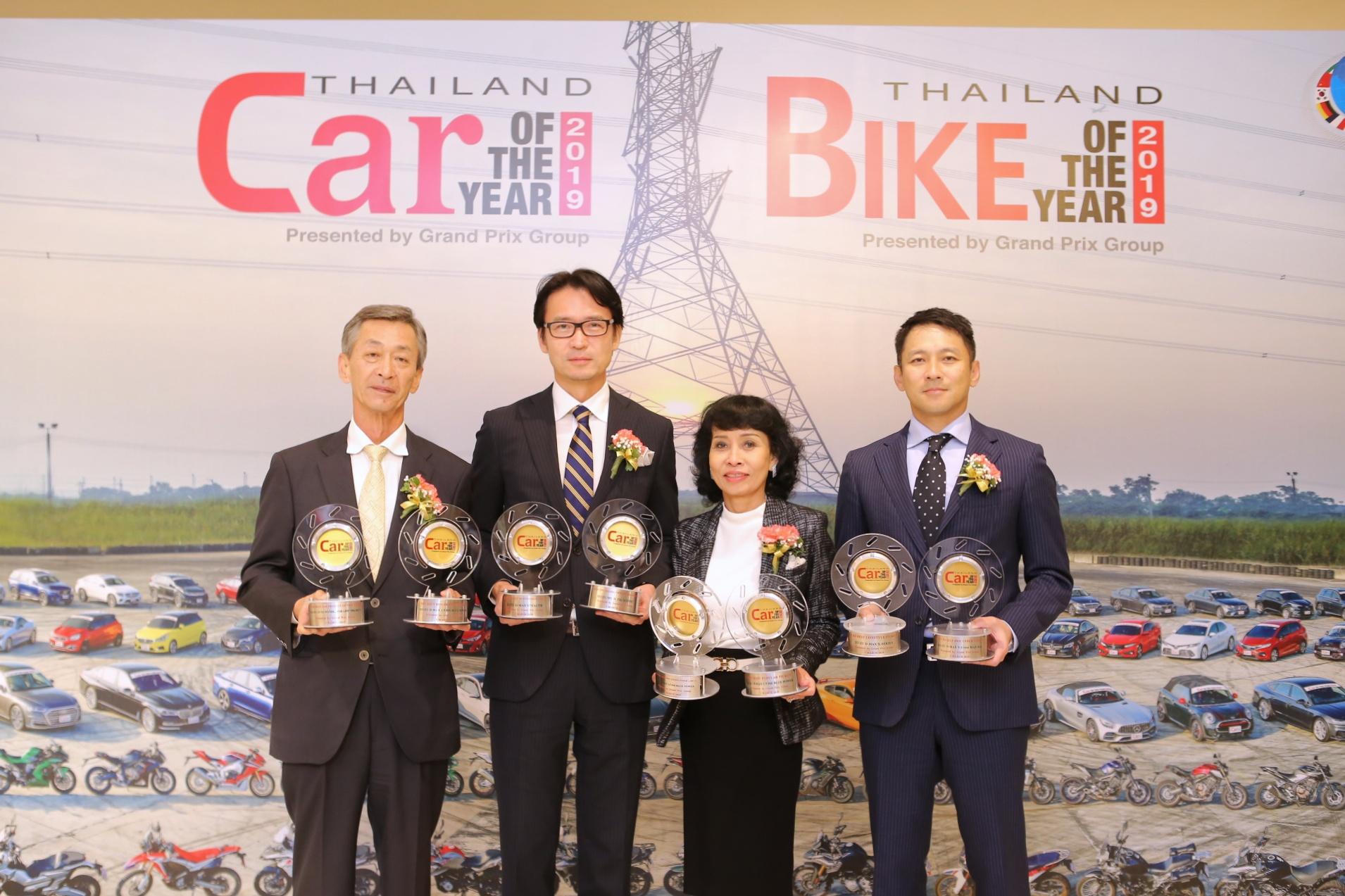 """อีซูซุรับ 8 รางวัลรถยอดเยี่ยม  จากเวที """"CAR OF THE YEAR 2019"""""""
