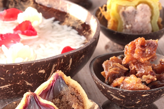 บุฟเฟ่ต์อาหารไทย 4 ภาค ต้อนรับวันสงกรานต์ ที่ห้องอาหารเดอะเทอเรส แอท 72