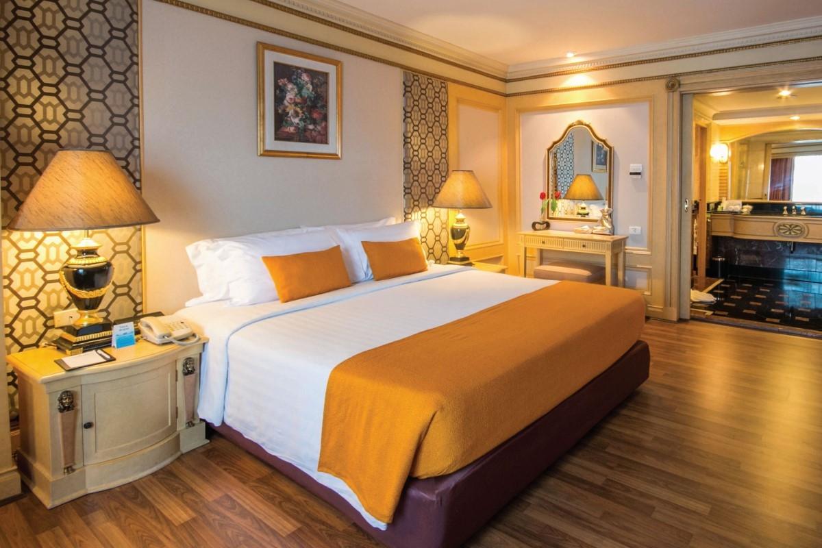 พักผ่อนหรูหรามีระดับบนถนนพระราม 9 Golden tulip Sovereign Hotel Bangkok
