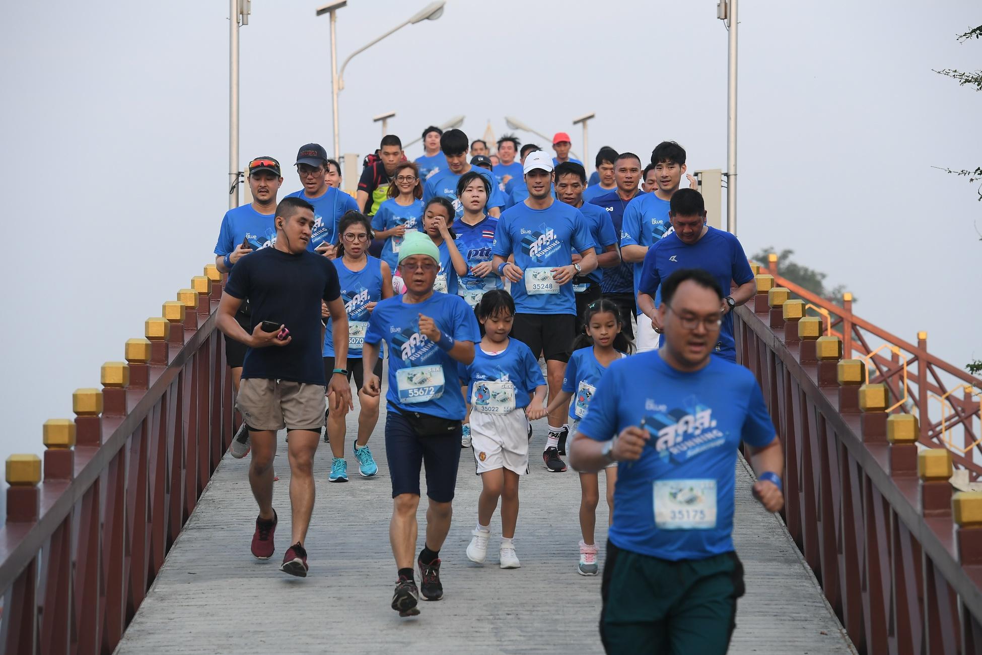PTT Blue Card ชวนสมาชิกร่วมวิ่งการกุศล ส่งมอบความสุขท้ายปี