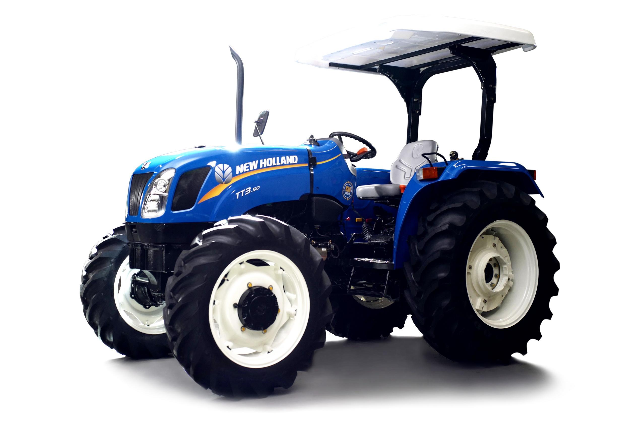 """นิว ฮอลแลนด์ เปิดตัว """"TT3.50"""" แทรกเตอร์เกษตร"""