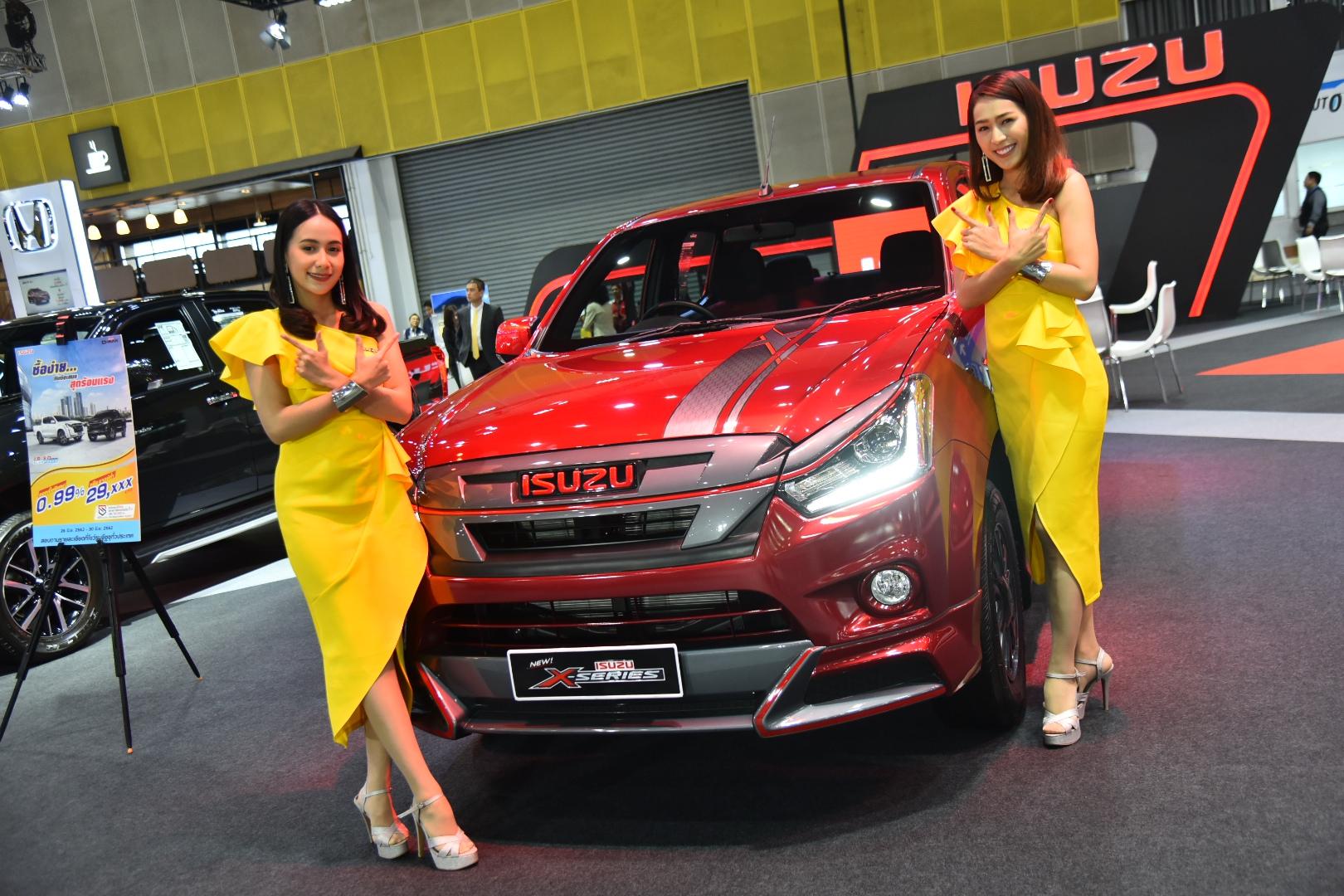 """อีซูซุ นำทัพ """"มิว-เอ็กซ์"""" รุ่นพิเศษ พร้อม  """"อีซูซุบลูเพาเวอร์"""" หลากรุ่น แจม """"FAST Auto Show Thailand 2019"""""""