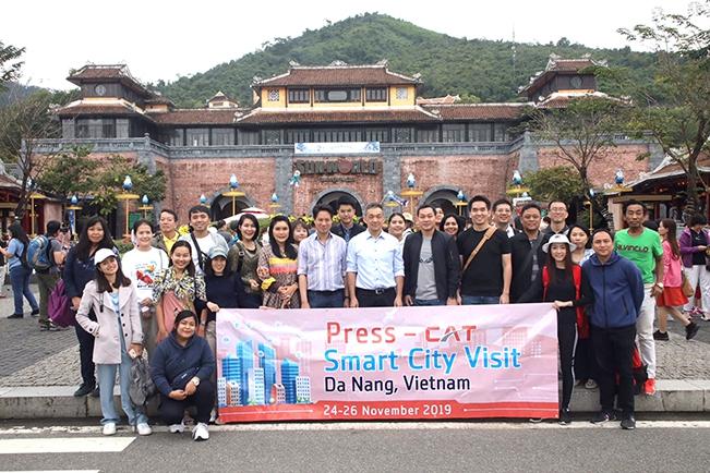 เที่ยวไปกับ CAT สนุทรียภาพแห่งการสื่อสารไร้พรมแดน พร้อมเปิดมุมมองใหม่แบบ Smart City @ Danang