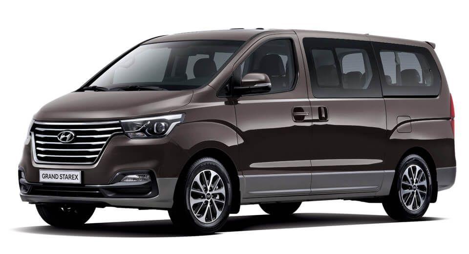 Hyundai H1 ปรับลุคใหม่ 2018