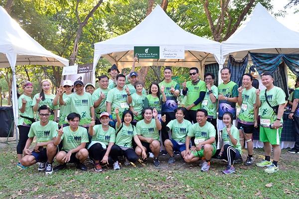 โรงแรมเจ้าพระยาปาร์ค ร่วมวิ่งพิทักษ์ รักษ์ป่า ชาเลนจ์ ครั้งที่ 1
