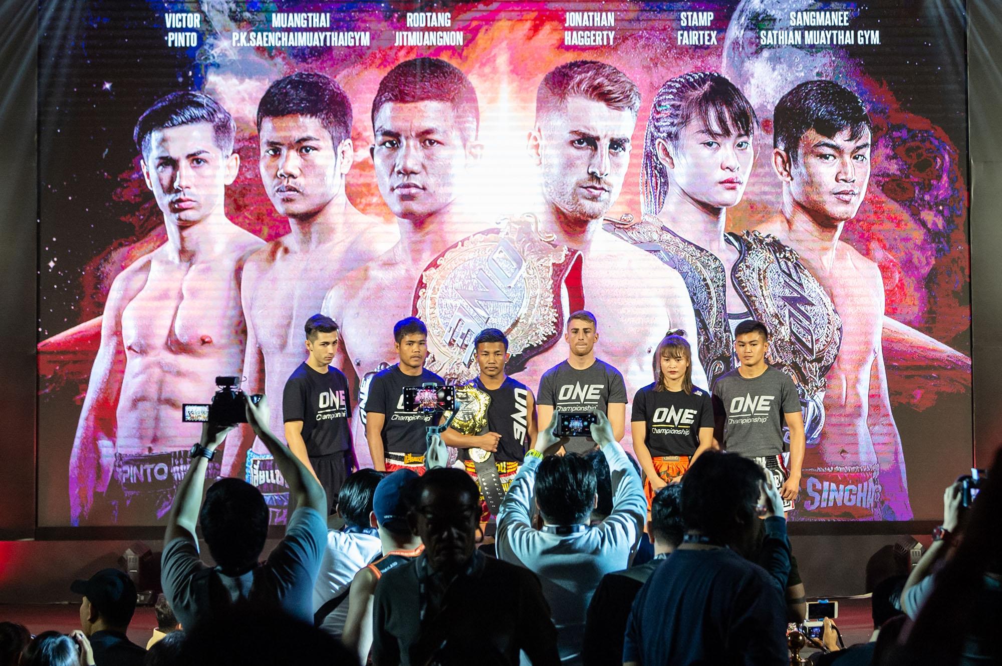 ONE จับมือ กกท. ยกระดับกีฬามวยไทยสู่เวทีโลกศึก ONE: A NEW TOMORROW รับปี 2020