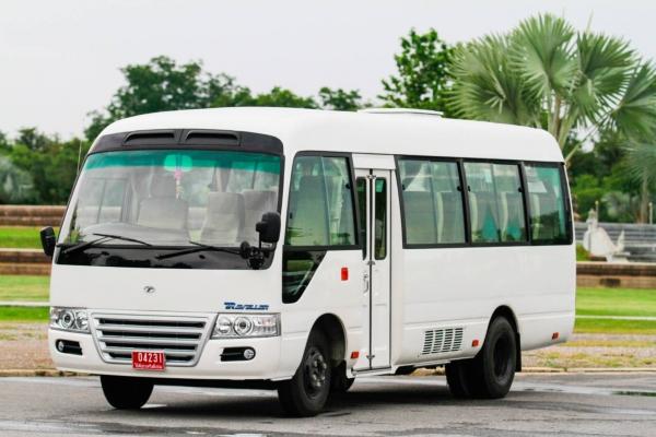 """""""ไทยรุ่ง"""" บุกตลาด  ส่ง TR Traveller มินิบัสสัญชาติไทย  พร้อม TR TRANSFORMER II  ชุดตกแต่งพิเศษ"""