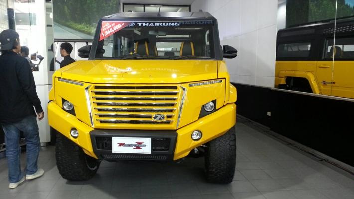 """""""ไทยรุ่ง"""" เปิดตัว TR Transformer II 2.8AT 4WD จัดงาน ไทยรุ่ง มอเตอร์โชว์ 2019"""