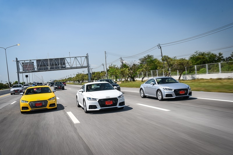 Audi TT Coupe  ตอบโจทย์คนรักสปอร์ต