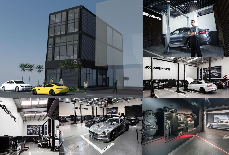 เบนซ์สตาร์แฟลก ทุ่ม 75 ล้าน เปิด Benz Star Flag AMG Performance Center ใหญ่สุดในเอเชีย