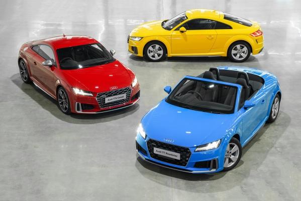 """""""อาวดี้"""" เร่งกลางโค้งปี' 62 เปิดตัว TT ครบไลน์ กับ The New Audi TT Roadster"""