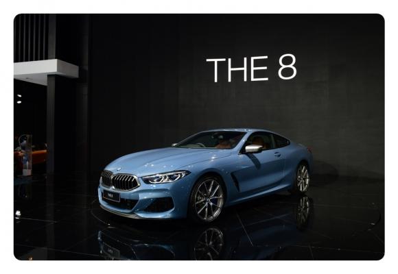 BMW เผยโฉม ซีรีส์ 8 ใหม่  กลางเวที MOTOR EXPO 2018