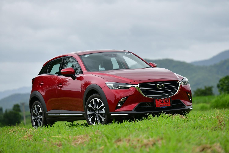 Mazda CX-3 ใหม่  ขับสนุก ออพชั่นล้น