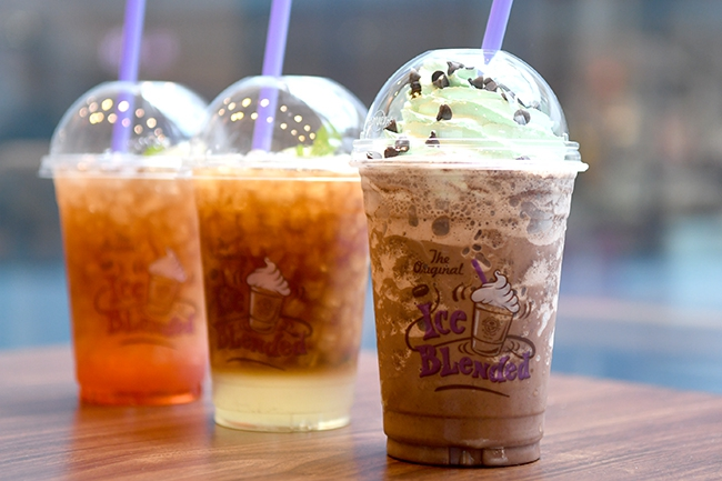 ดับกระหายคลายร้อนกับ Summer Breeze Mint  @ The Coffee Bean & Tea Leaf