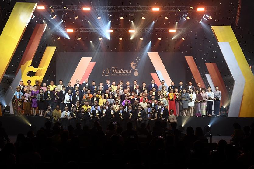 """ททท. จัดพิธีมอบรางวัลอุตสาหกรรมท่องเที่ยวไทย พร้อมเดินหน้ายกระดับคุณภาพสินค้าและบริการทางการท่องเที่ยวผ่านสัญลักษณ์ """"กินรี"""""""