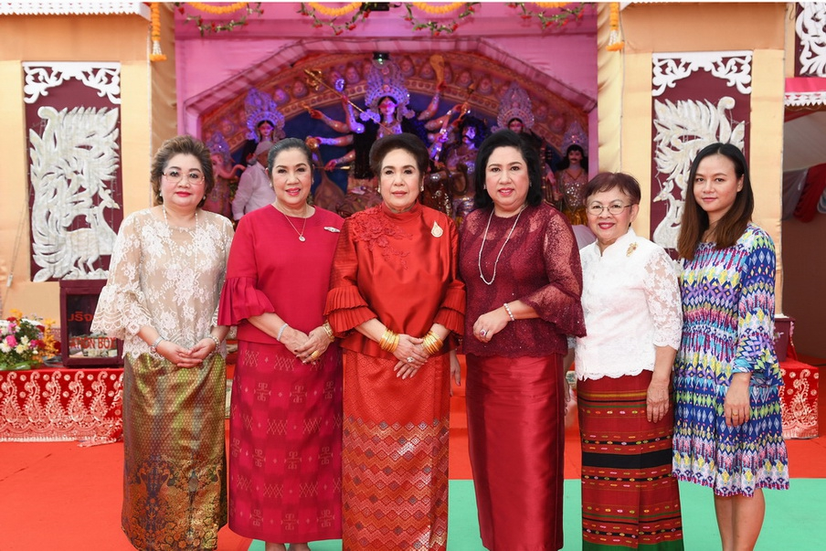 เทศกาลนวราตรี-บูชาพระแม่ศรีอุมาเทวี ประจำปี 2561