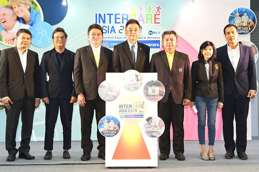 Inter Care Asia 2019 ศูนย์รวมสินค้าและนวัตกรรมเพื่อสูงอายุ งานเดียวตอบโจทย์ครบทุกมิติ