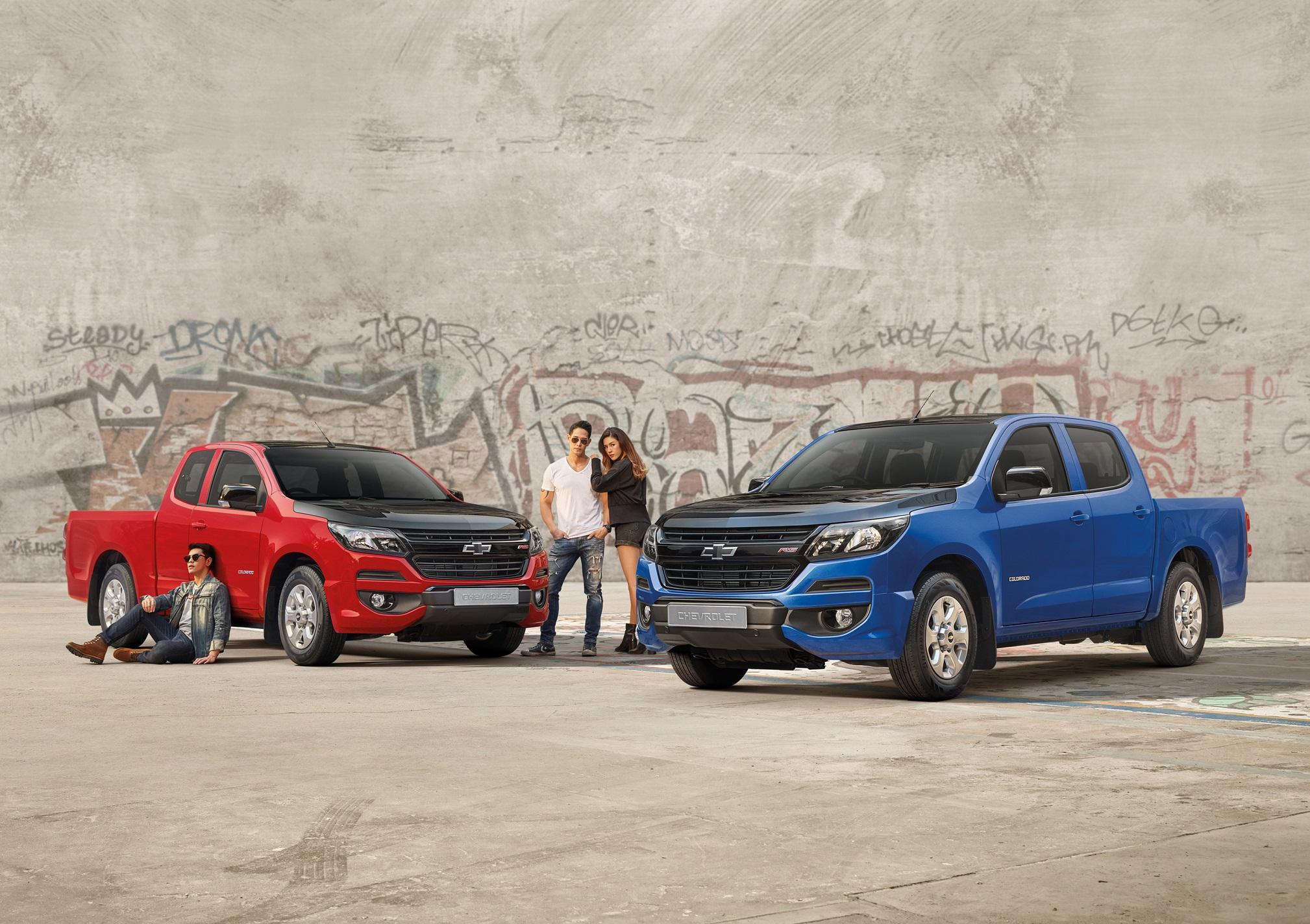 """เชฟโรเลต เปิดตัว """"โคโลราโด อาร์เอส อีดิชั่น""""  รถกระบะสำหรับคนรักรถแต่ง จำกัดเเค่ 200 คัน"""