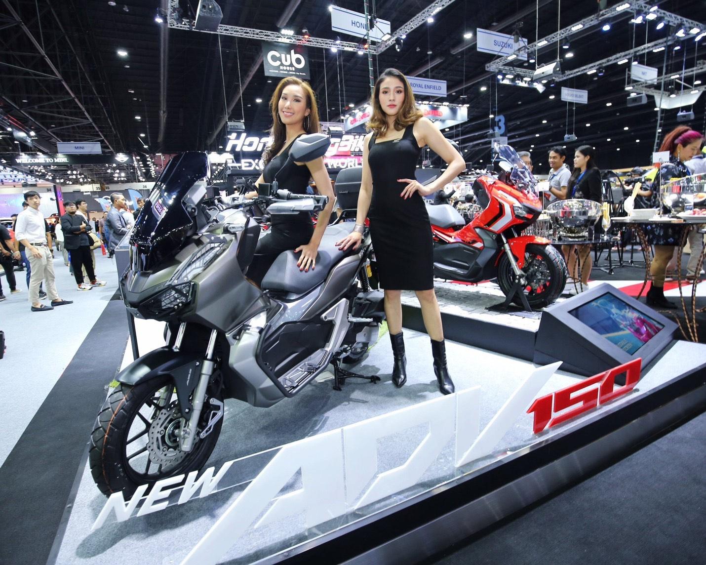สองล้อ Honda ADV150 ร้อนแรงสุด ยอดจองเบอร์หนึ่ง มอเตอร์เอ็กซ์โป 2019