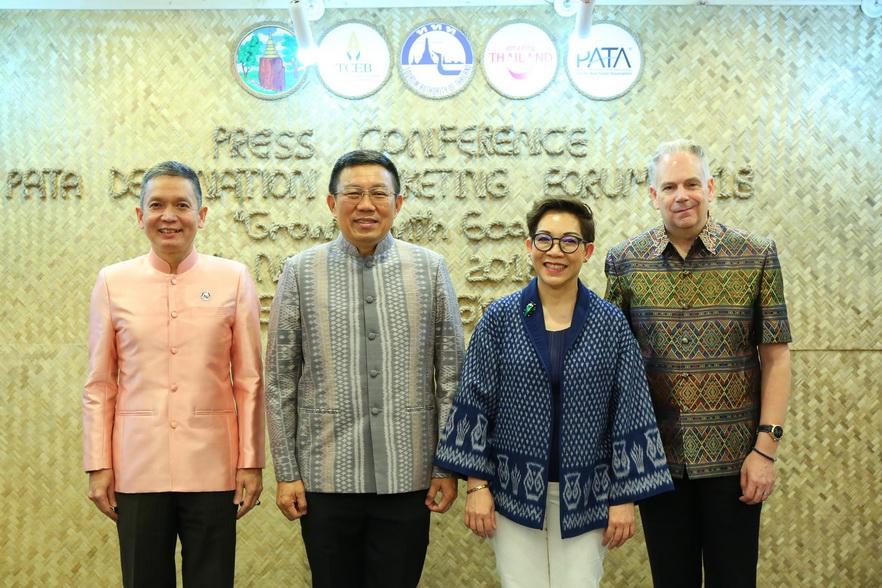 ทีเส็บ จับมือ PATA และ ททท. ดันขอนแก่นเป็นเจ้าภาพจัดการประชุมองค์กรท่องเที่ยวระดับโลก PDMF 2018 เป็นศูนย์ท่องเที่ยวและประชุม พร้อมดึงชุมชนเข้าเปิดตัวสู่ตลาดโลก