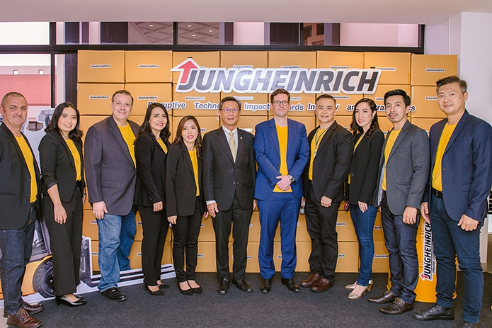 ยุงค์ไฮน์ริช ลิฟท์ ทรัค จัดแข่งรถฟอร์คลิฟท์ ครั้งแรกของประเทศไทย
