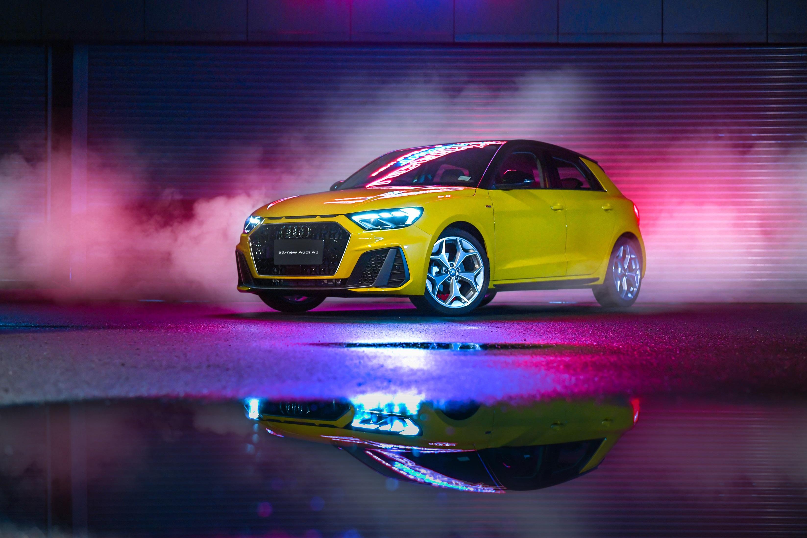 อาวดี้ เปิดตัวพรีเมียมคอมแพคท์The New Audi A1 Sportbackราคา2.149 ล้านบาท