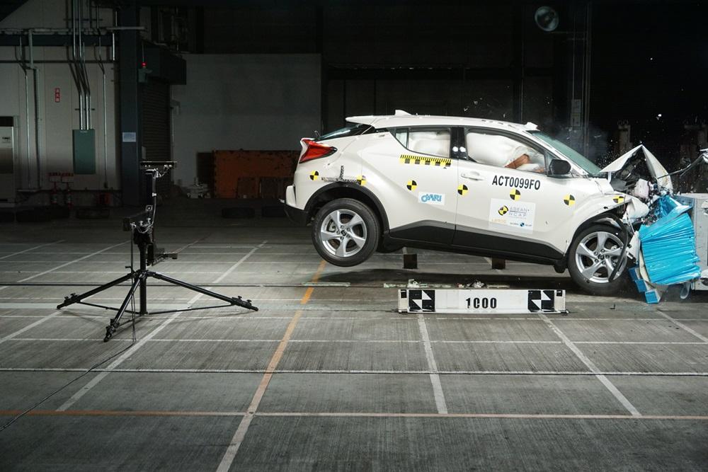 โตโยต้า ซี-เอชอาร์ คว้ามาตรฐานปลอดภัย 5 ดาว จาก ASEAN NCAP