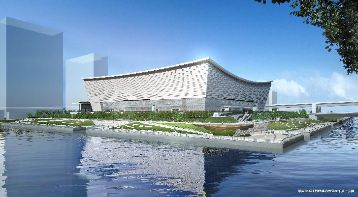 บริดจสโตน ติดตั้งเทคโนโลยีรับแผ่นดินไหวอาคารจัดงานโตเกียวโอลิมปิก และพาราลิมปิก 2020