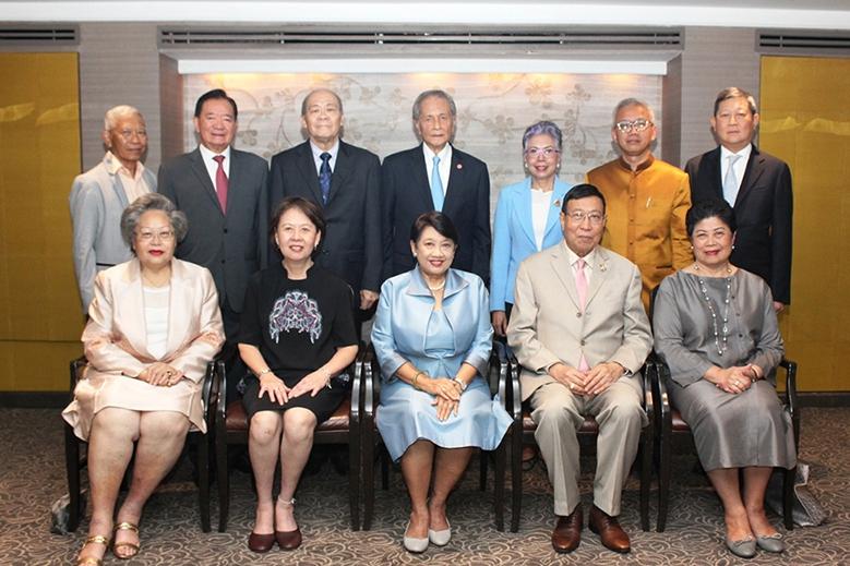 เลี้ยงสังสรรค์เอกอัครราชทูตสิงคโปร์ประจำประเทศไทย